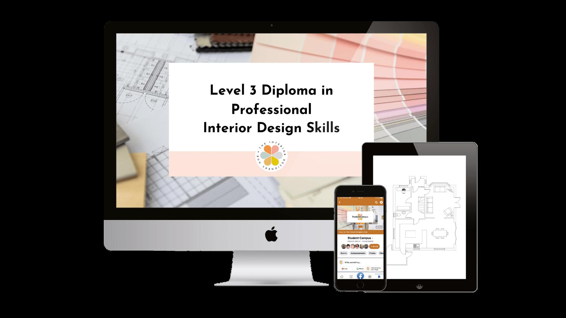 Level 3 Diploma in Interior Design
