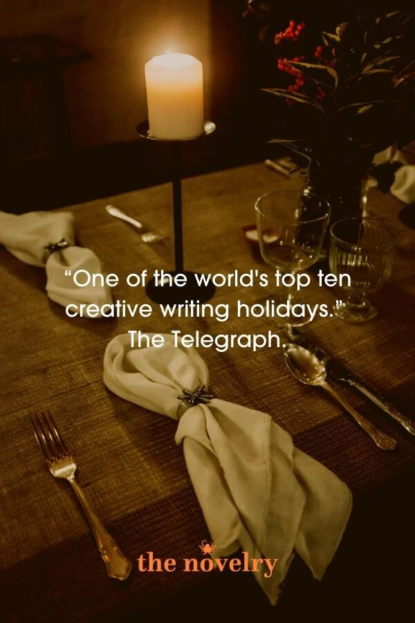 Creative writing retreats