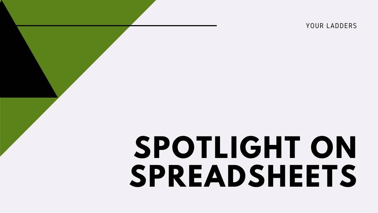 Spotlight on Spreadsheets class