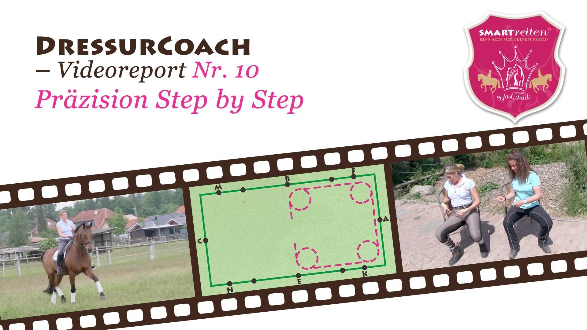 Präzision Step by Step
