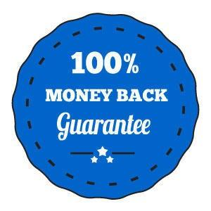 100% money back guarantee MAT