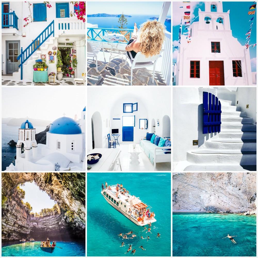 Greece Preset Examples