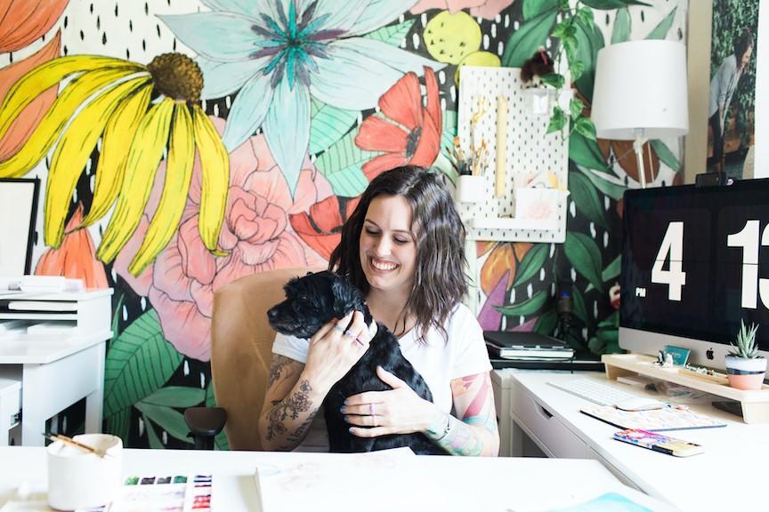 Peggy Dean studio