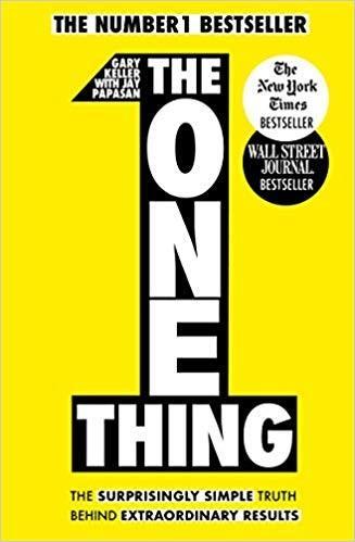 Inspirational books for entrepreneurs reading the one thing gary keller