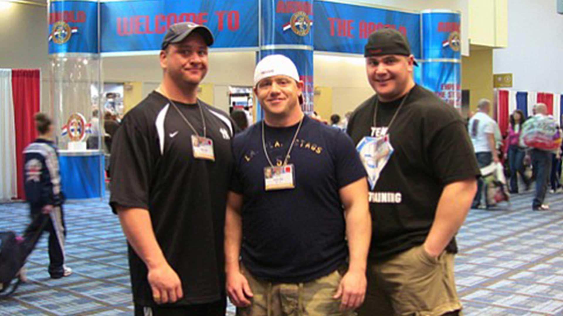 MARK BELL AND HIS BROTHERS