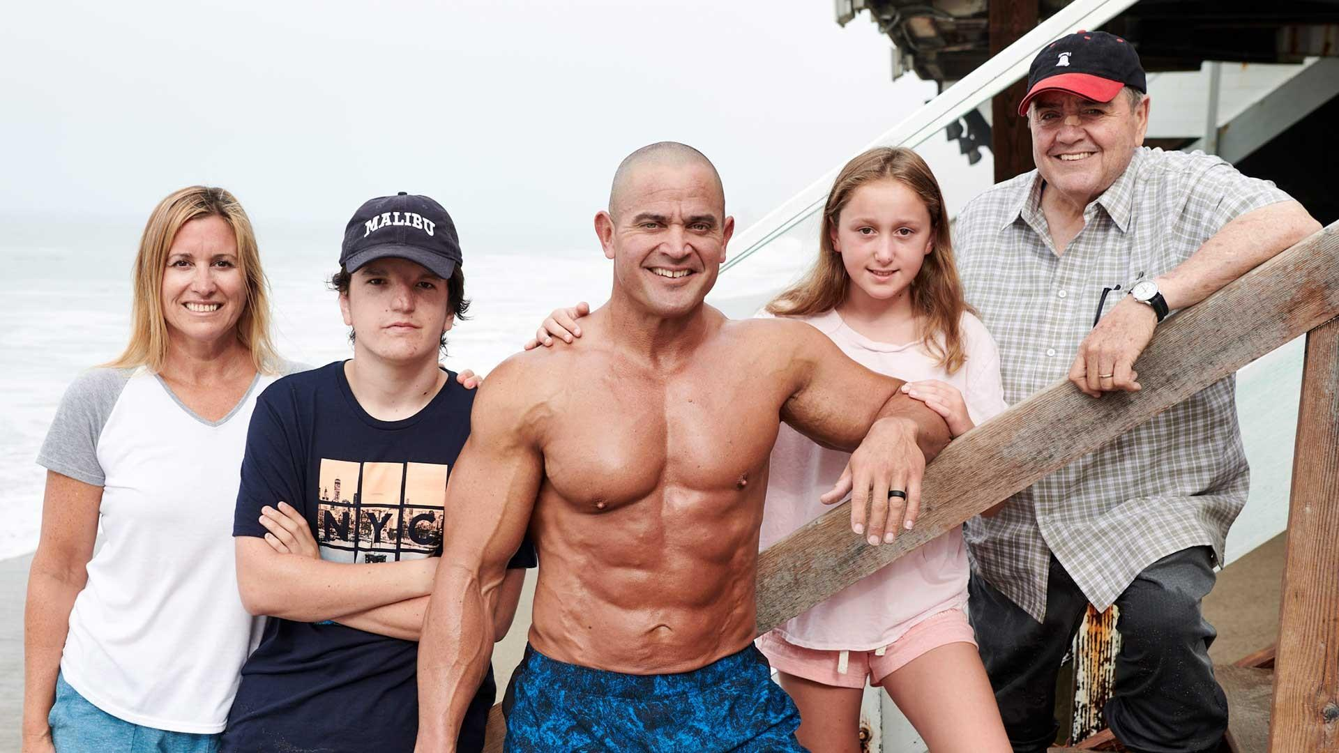 MARK BELL AND FAMILY