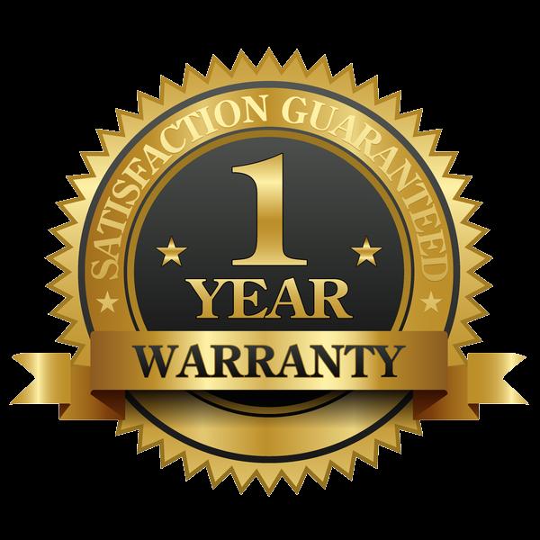 1 Year Warranty - Guaranteed!