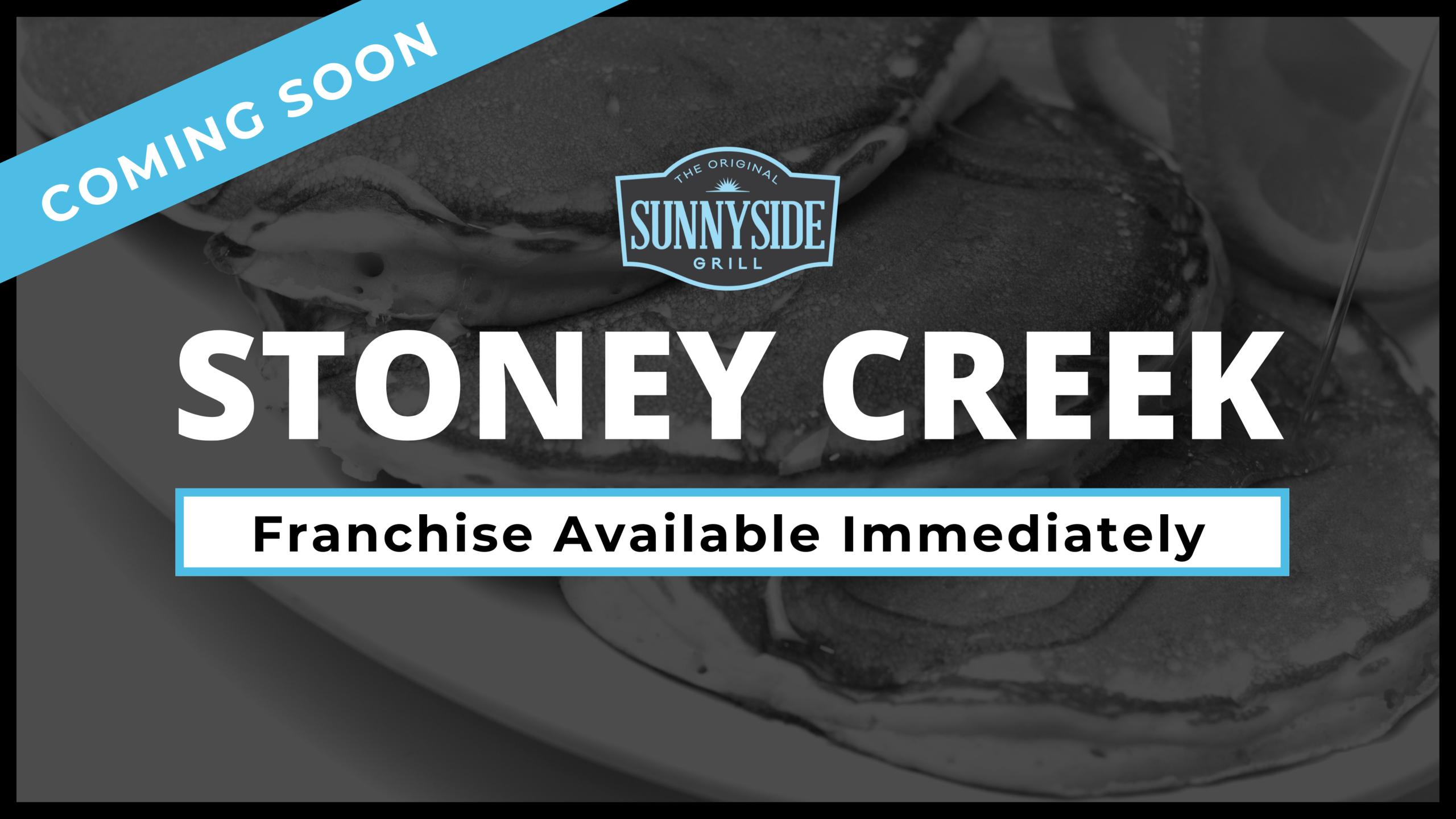 Stoney Creek Franchise Opportunity