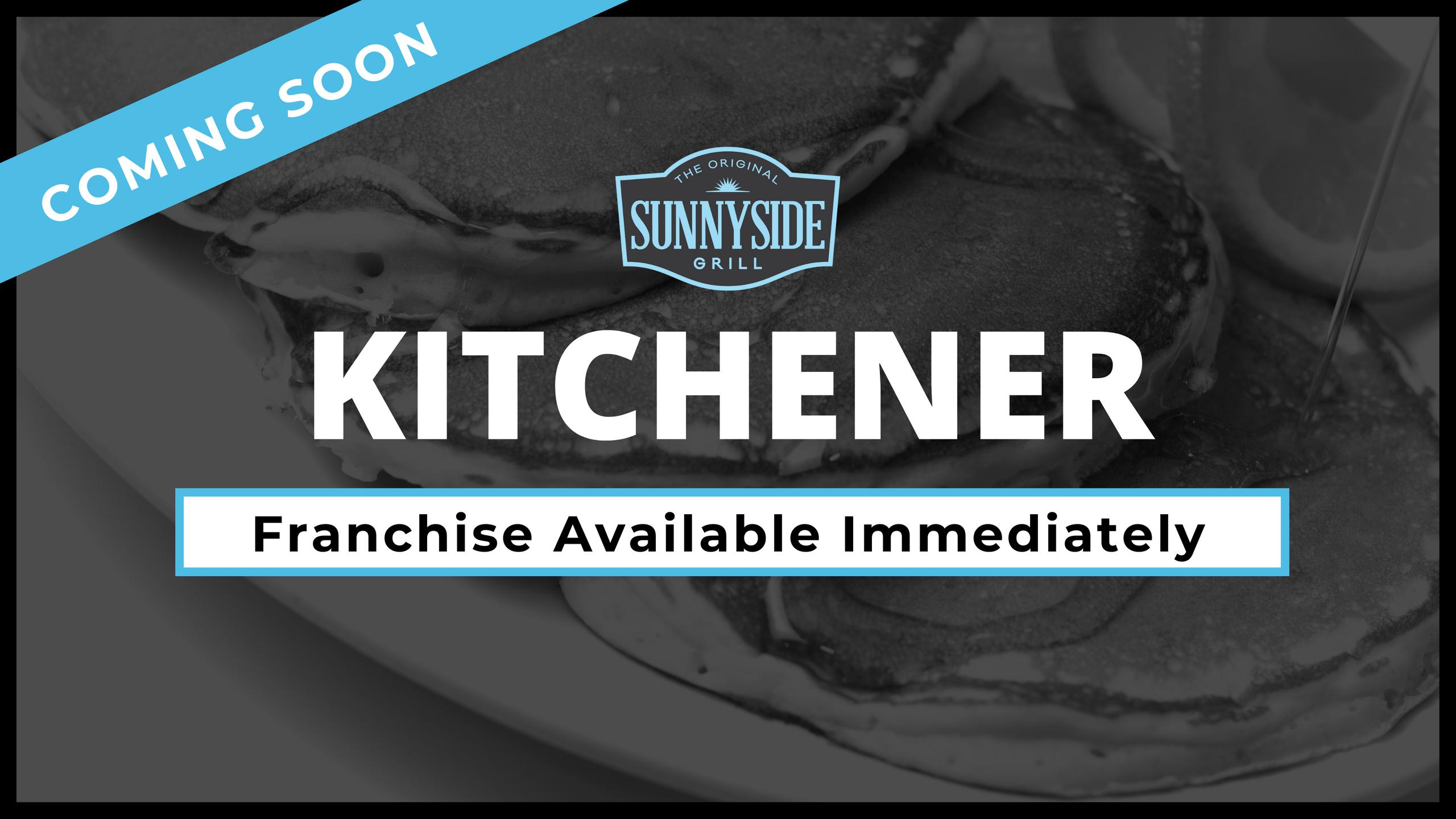 Kitchener Franchise Available