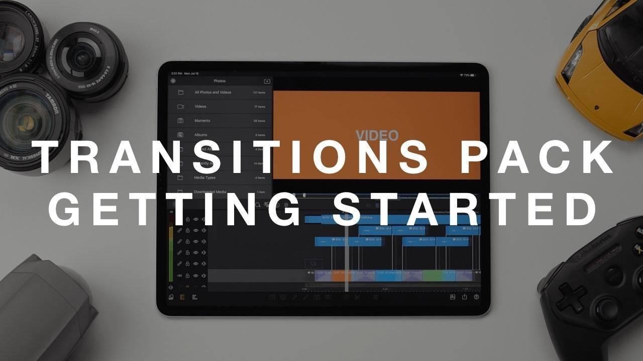 LumaFusion Transitions Pack