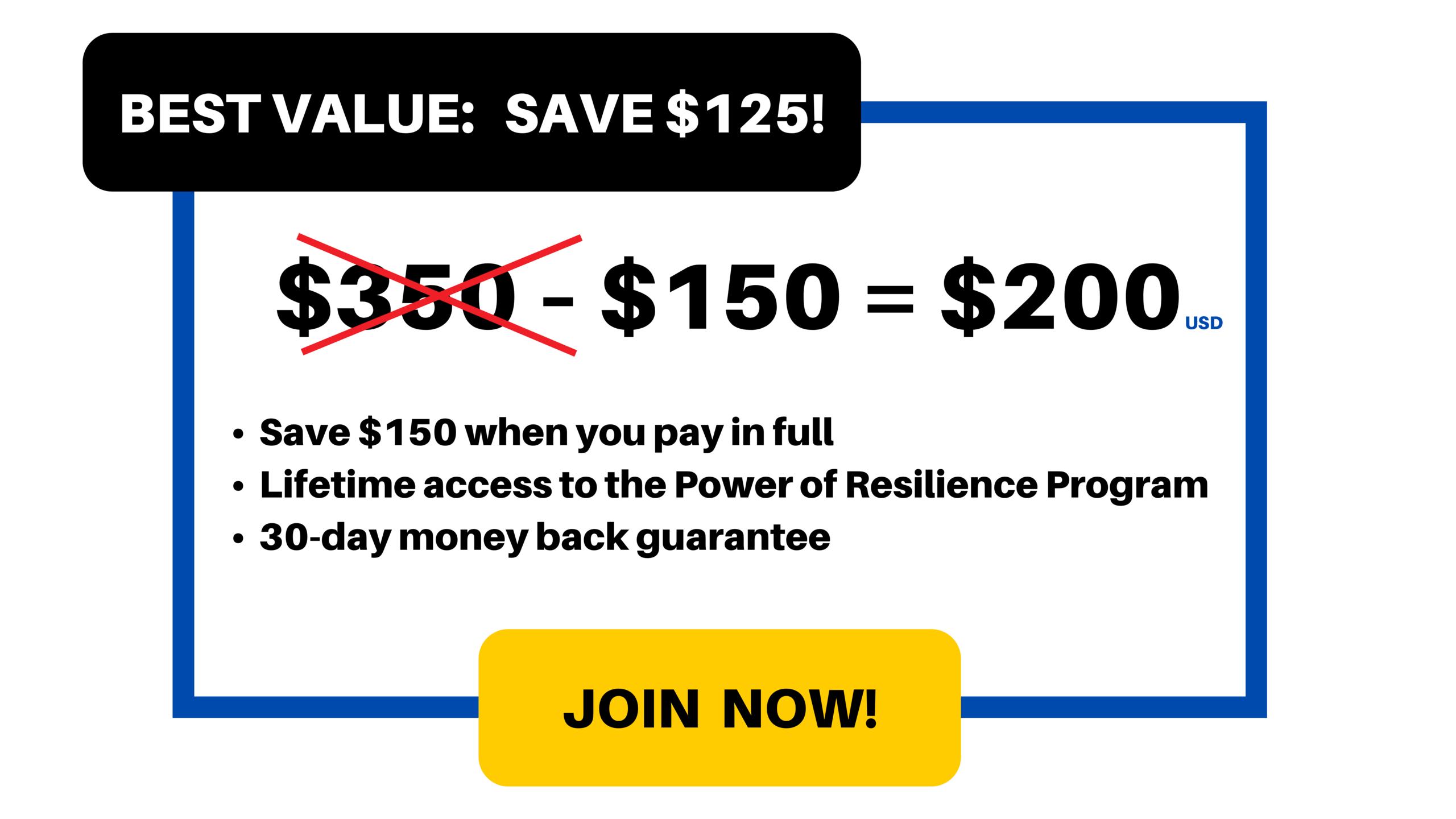 Best Value: $200