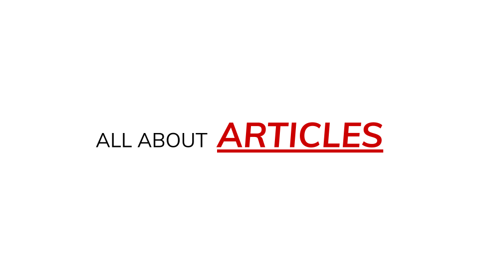 All About Articles course by Kris Amerikos