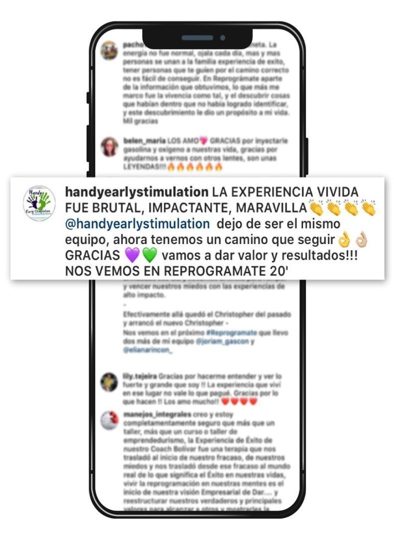 testimonios reprogramate firewalking 2020 experiencia de exito panama bolivar mendieta