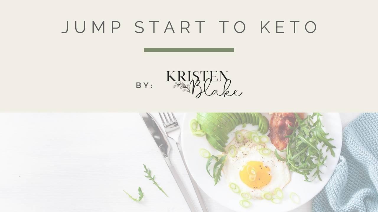 Jump start your keto journey.