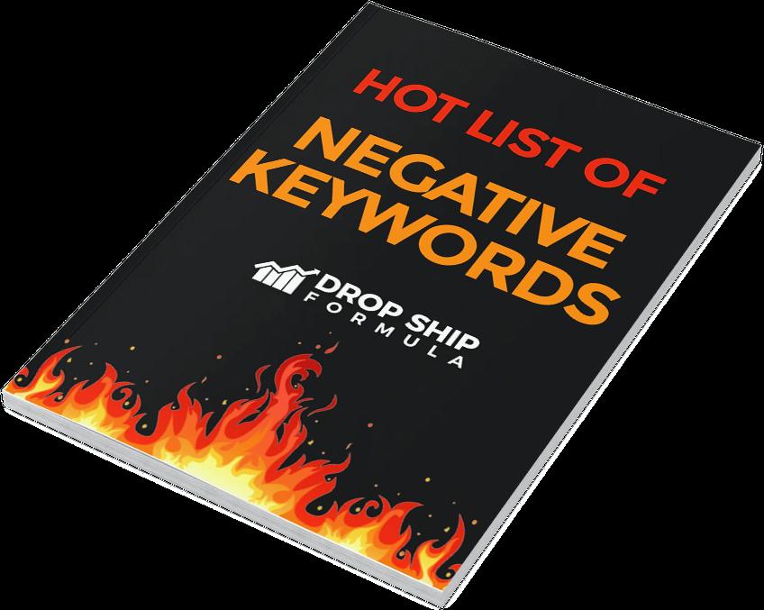 Hot UK negative keywords for google and bing ads