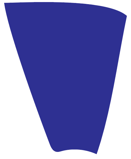 Blue color swatch