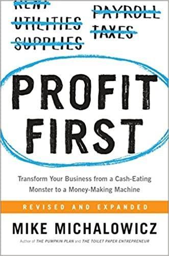 Profit First Inspirational Books For Entrepreneurs