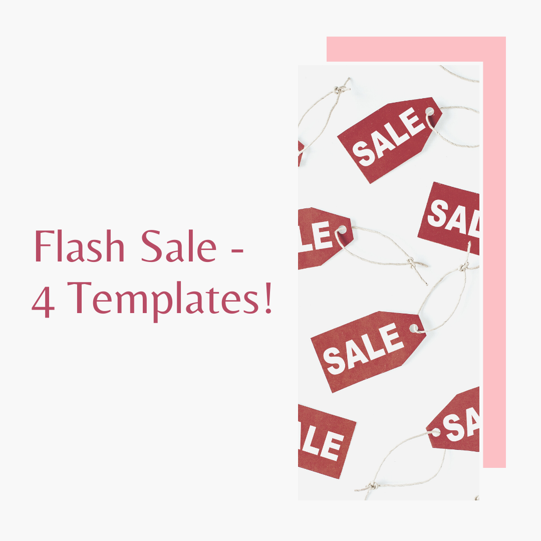 Flash Sale Templates