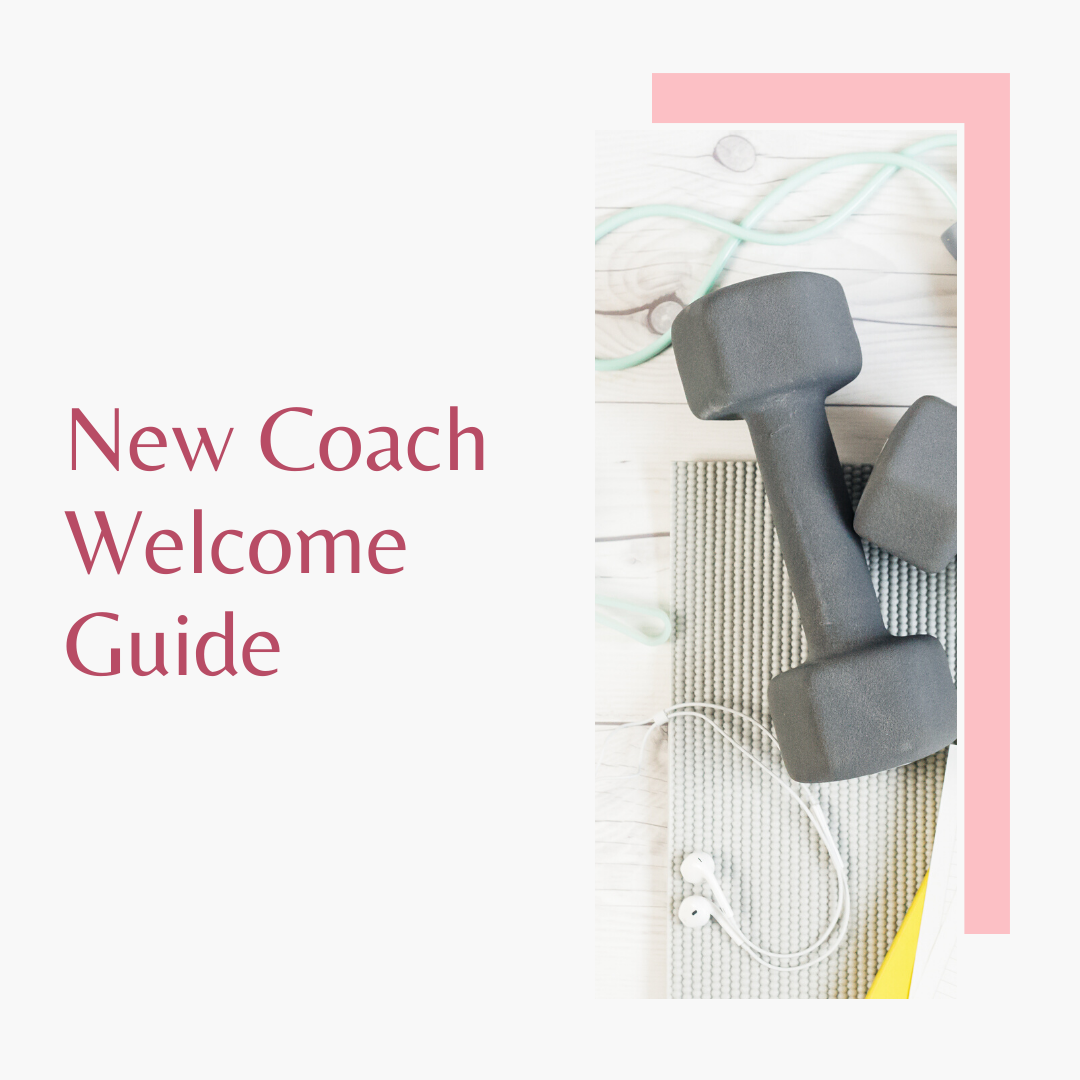 New Coach Welcome Guide