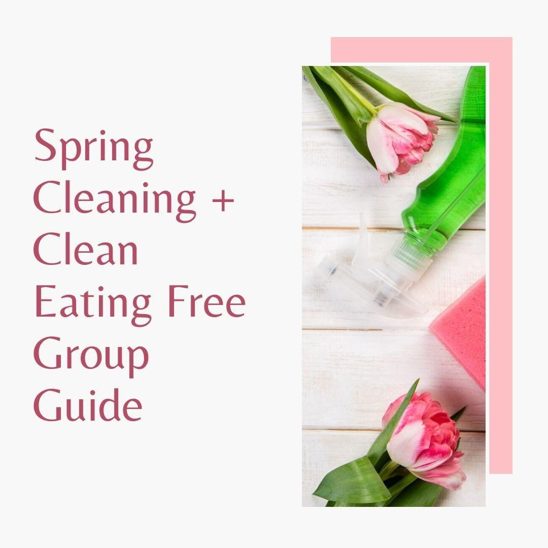 Spring Cleaning Free Group Guide