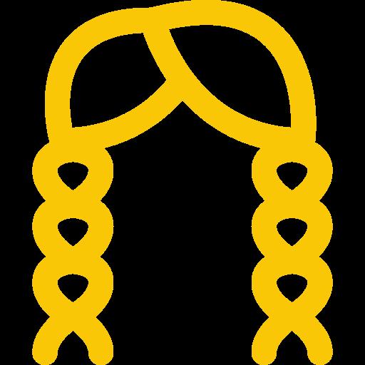 hair braiding icon