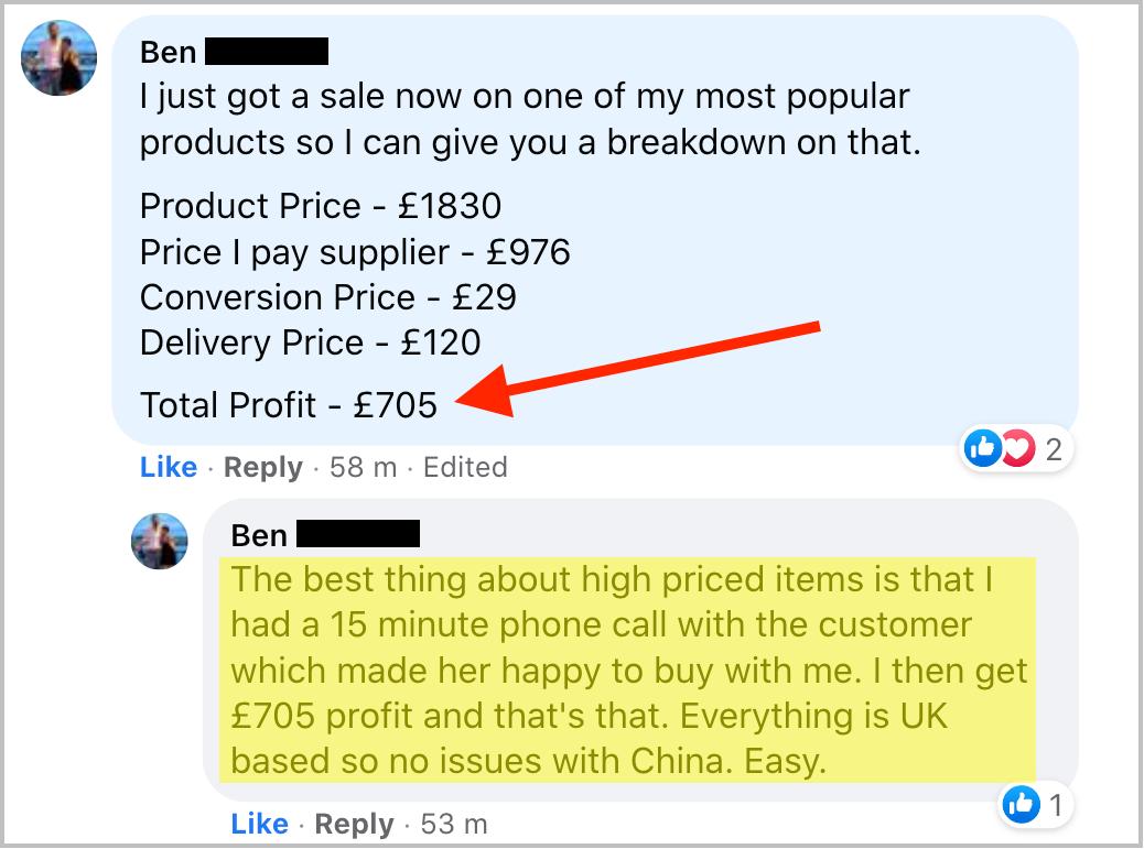 Drop Ship Formula Review - Ben Sales1