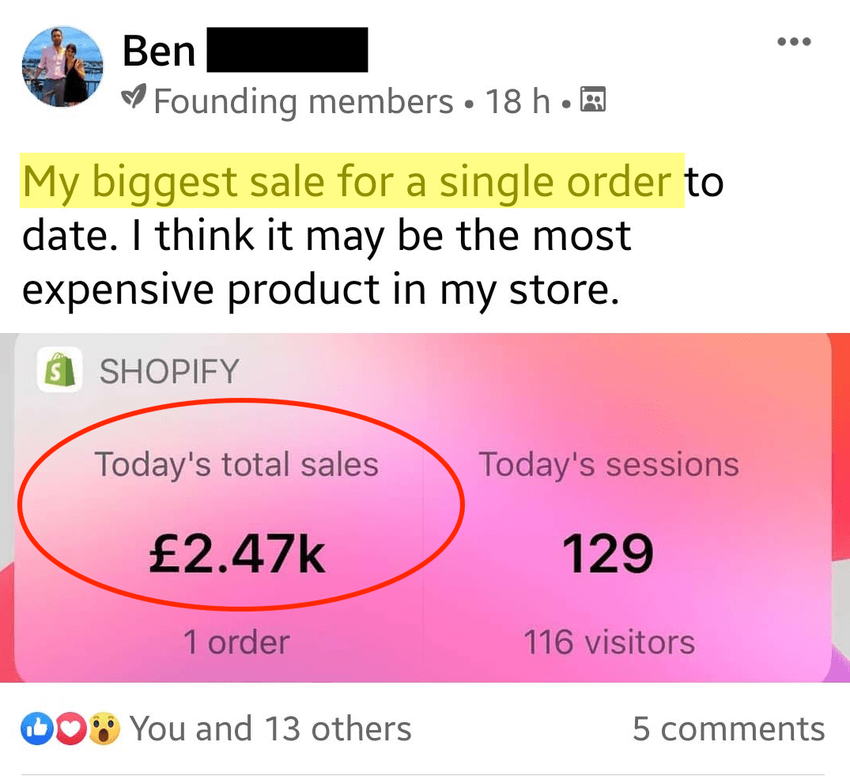 Drop Ship Formula Review - Ben Sales5