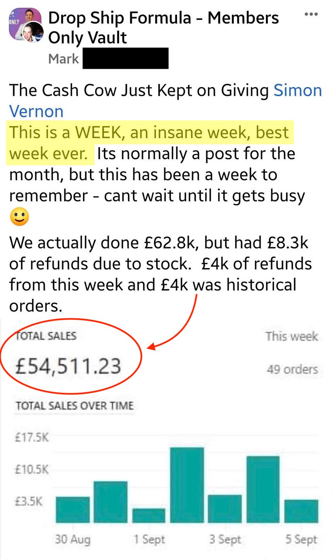 Drop Ship Formula Review - Mark Sales 5