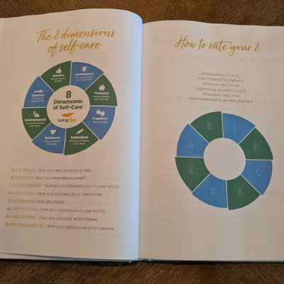 Rate Your 8 instructions inside The Lifestyle Design Planner by Stacy Fisher