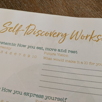 Self-Care Discovery Worksheet inside The Lifestyle Design Planner by Stacy Fisher
