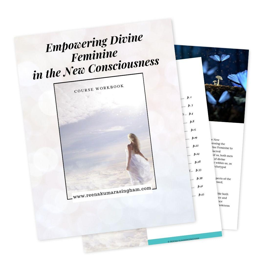 Workbook Online Course | Empowering Divine Feminine in the New Consciousness