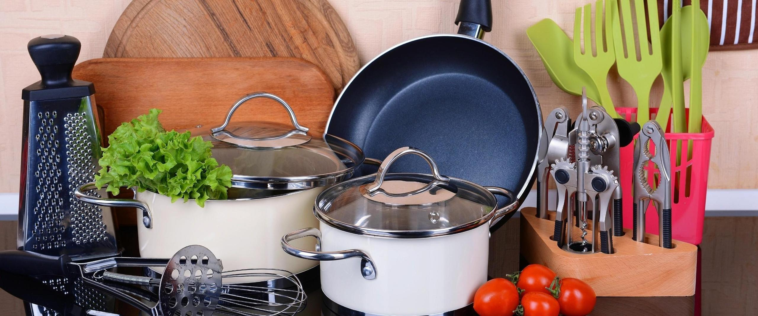 Vegan kitchen tools on a counter from Your Vegan Family