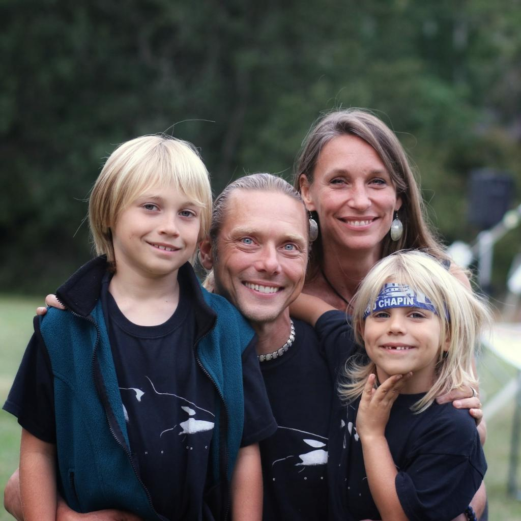 Our vegan family kids and parents