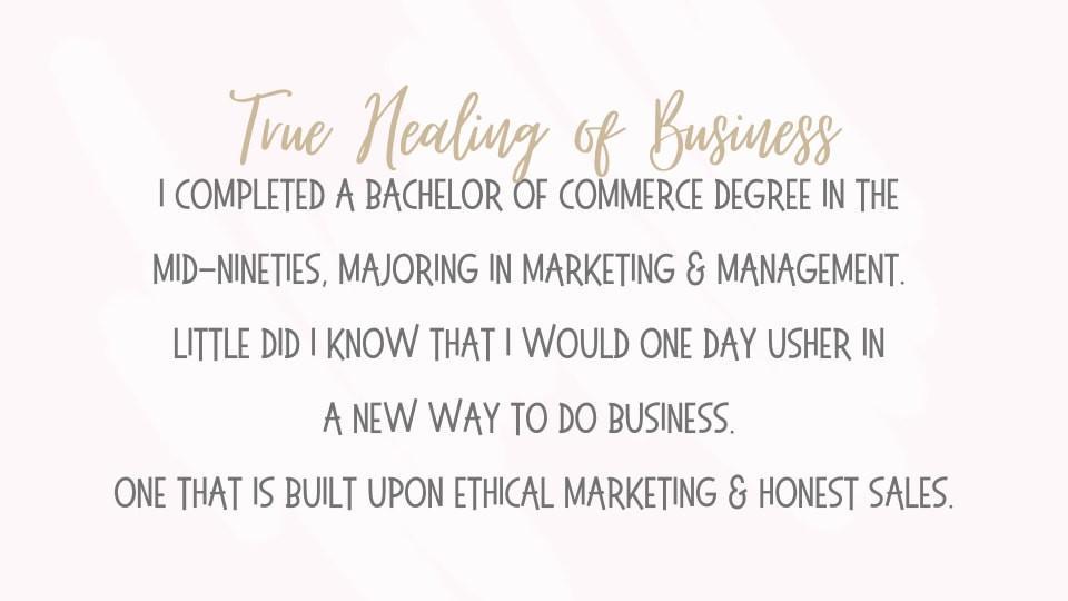 True Healing of Business