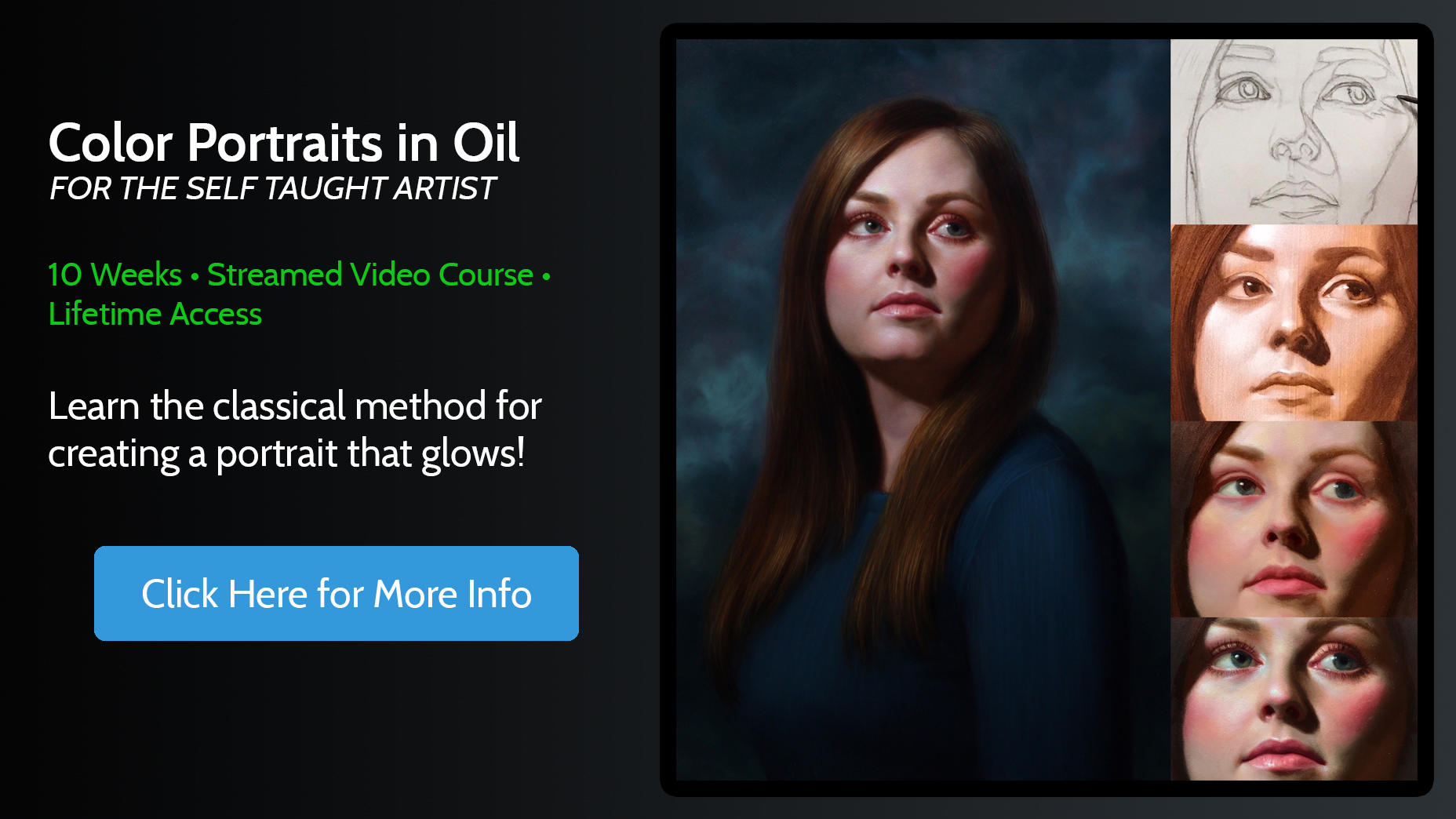 Color Portraits in Oil Online Course