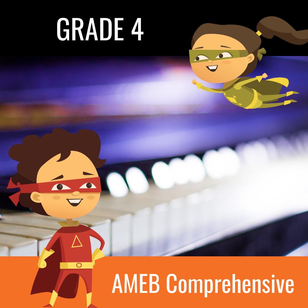 AMEB Piano Comprehensive Grade 4 Scales