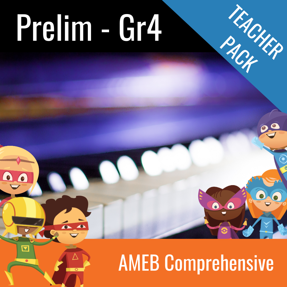 AMEB Piano Comprehensive Teacher Pack Scales