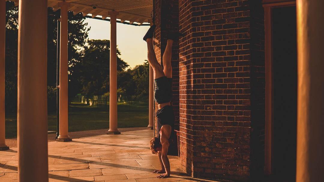 Handstand Toolkit Split Leg Balance