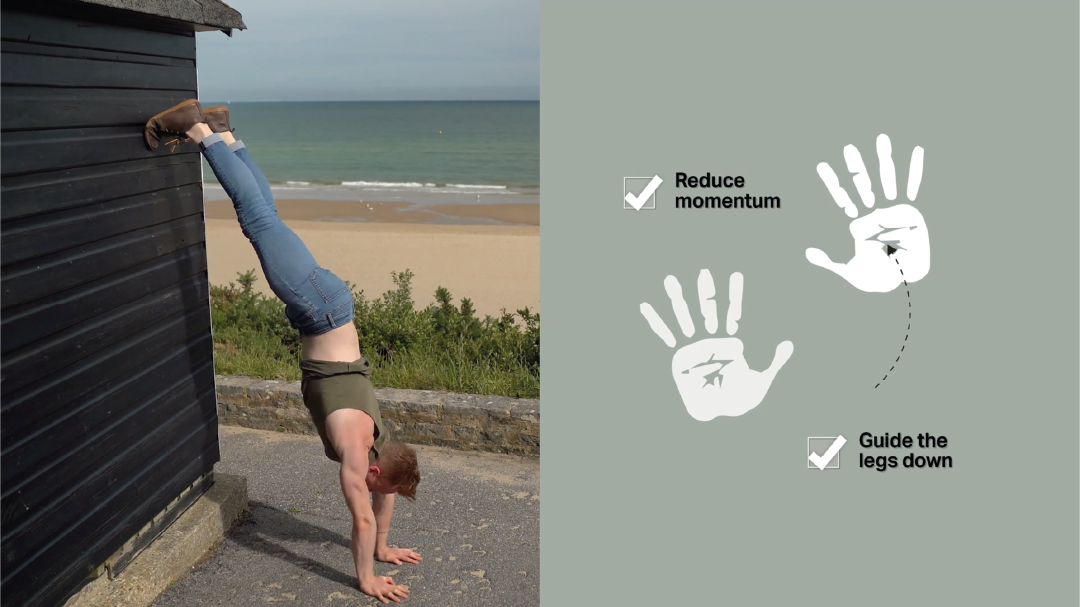 Handstand toolkit how to fall out of a handstand