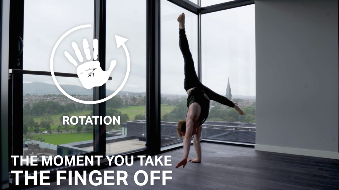 Handstand toolkit section 9 - how to one arm handstand