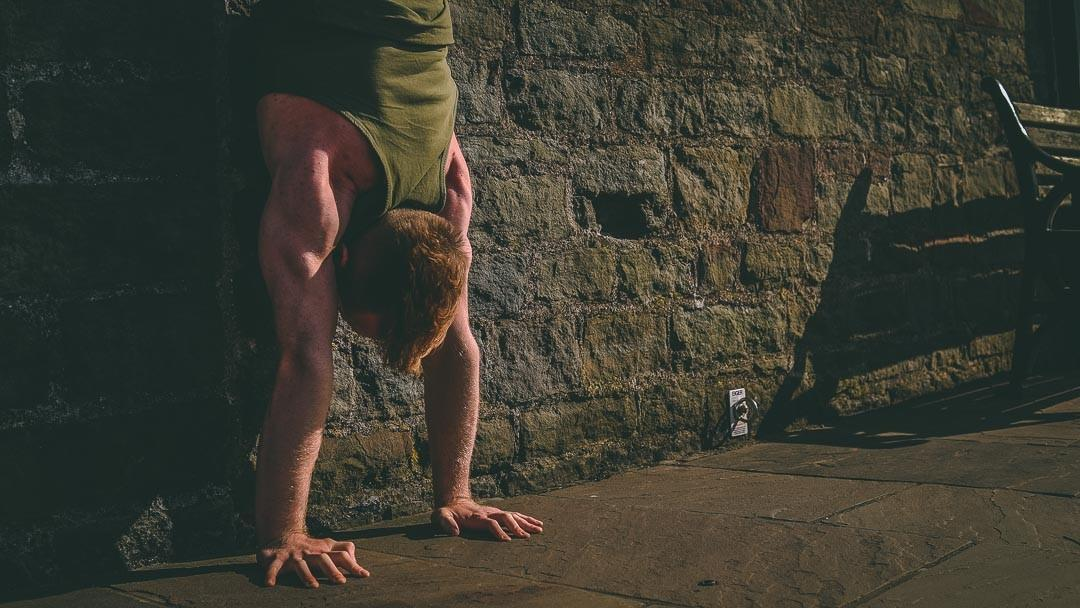 How to bail from a handstand