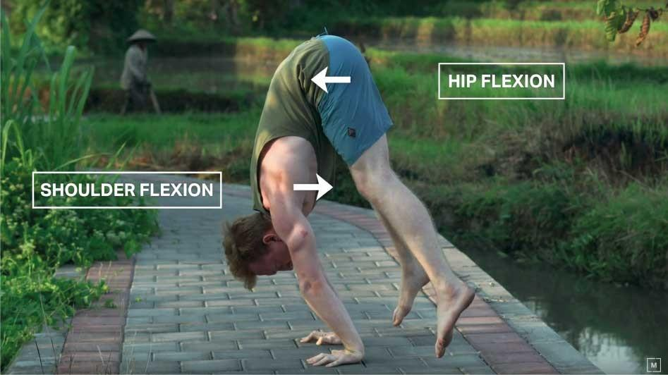 Handstand toolkit section 8 press - how to press handstand - straddle press - pike press