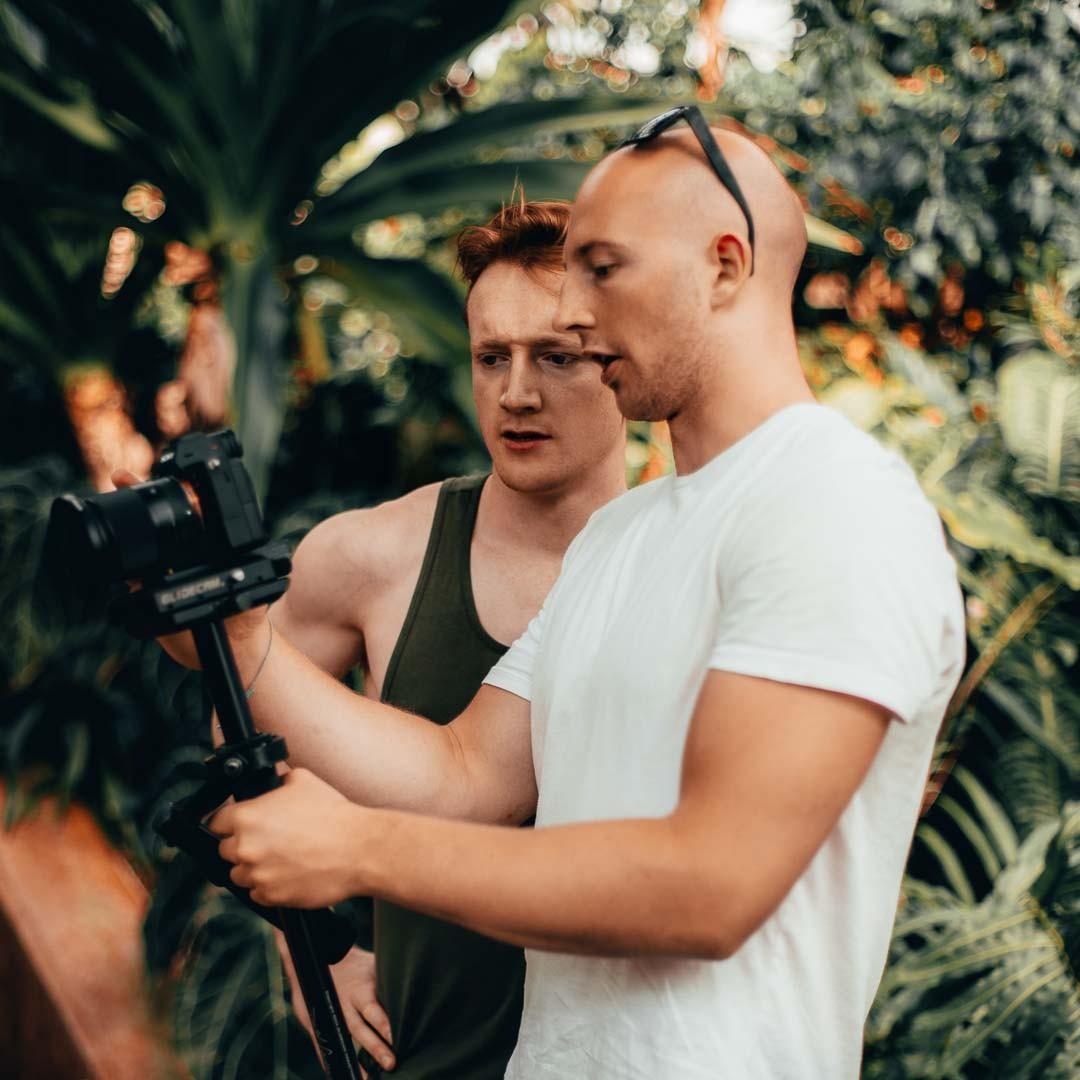 Tim filming matthewismith