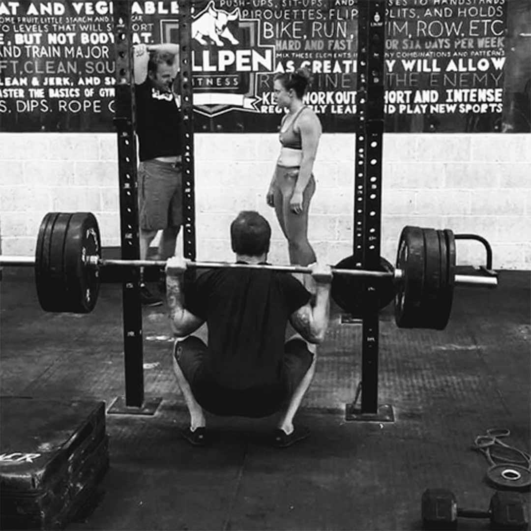 Ally back squat matthewismith