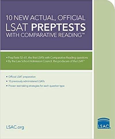 Official LSAT PrepTest 52-61