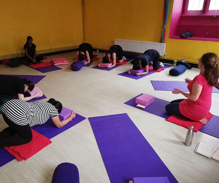 Pregnancy & Birth Preparation Yoga Class