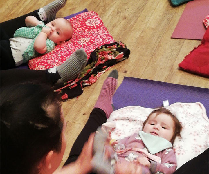 Baby & Postnatal Yoga Class