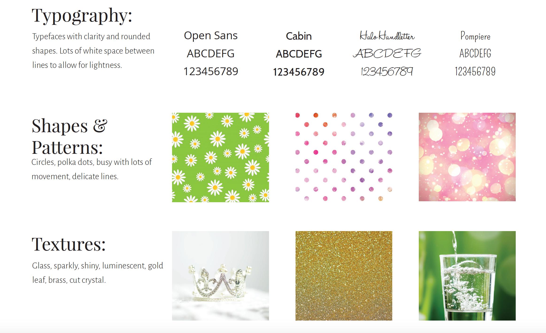 Color psychology Summer design elements