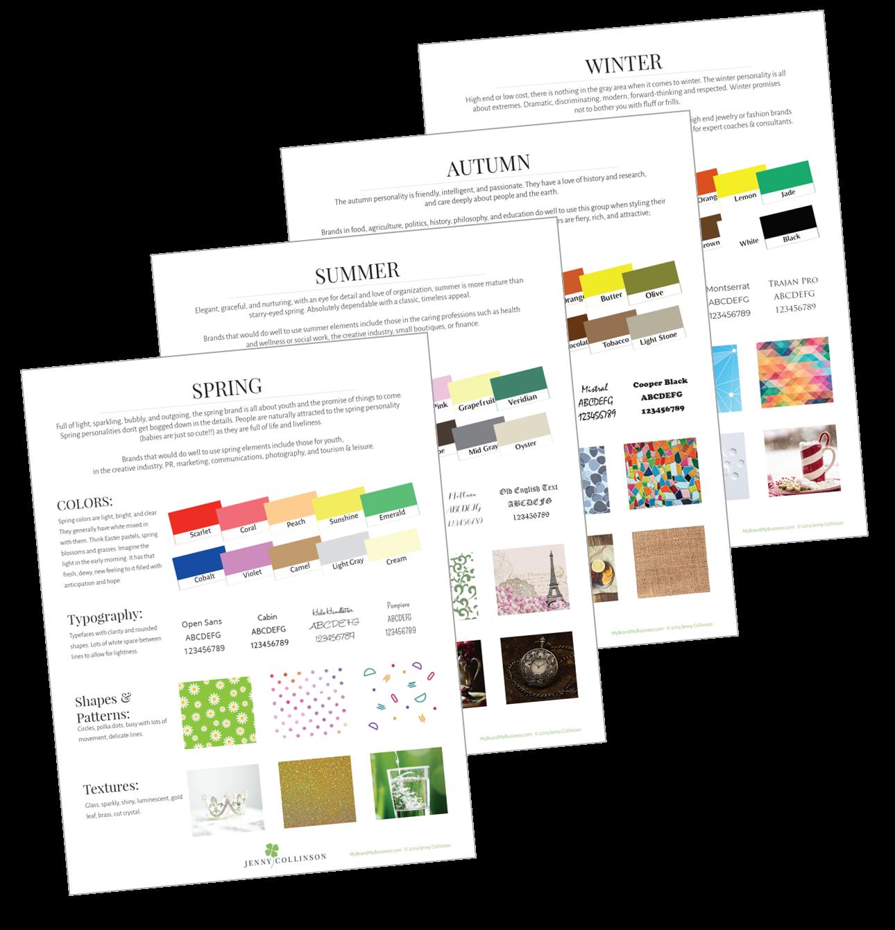 Seasonal Design Elements Bundle