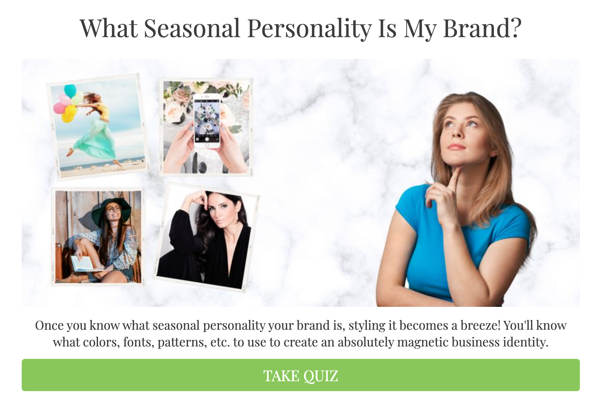 What Seasonal Personality Is My Brand?